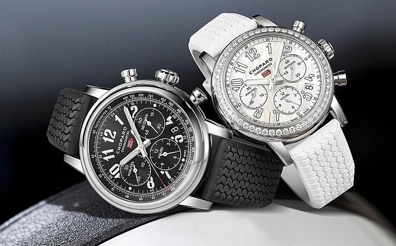演繹完美雙重奏:蕭邦Mille Miglia Classic Chronograph計時對錶
