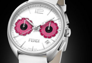Fendi Timepieces全新Momento Fendi Flowerland腕錶