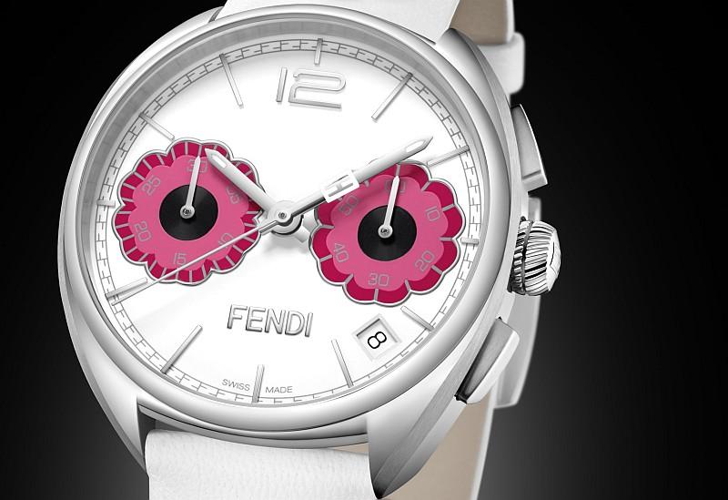 Fendi Timepieces全新Momento Fendi Flowerland腕錶