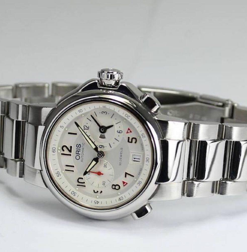 Oris Worldtimer 第二代,Full-Steel錶款。