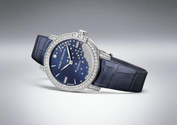 海瑞溫斯頓靜夜Midnight系列 29毫米鑽滴自動腕錶
