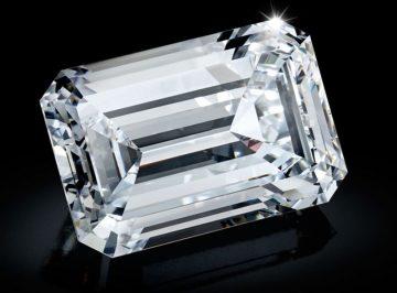 163.41克拉D色IIA鑽石 粗估9億拍賣