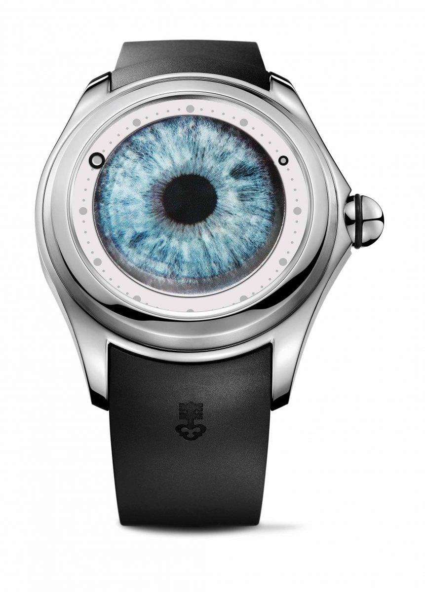 CORUM Big Bubble Eye腕錶,參考售價 NTD 227,000
