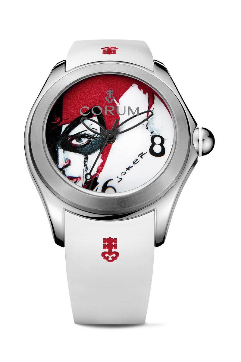 CORUM Bubble Joker 腕錶,參考售價 NTD 168,000