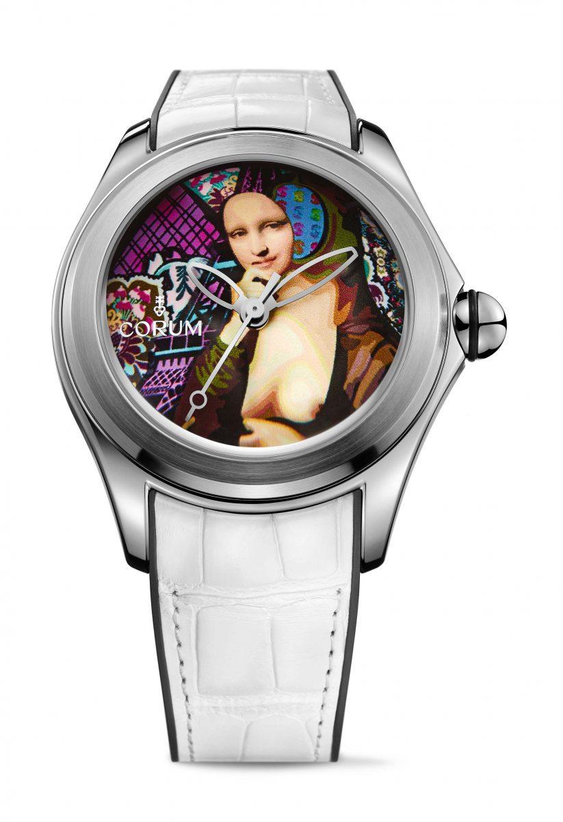 CORUM Bubble Elisabetta Fantone腕錶,參考售價 NTD 244,000