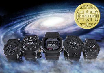 G-SHOCK 35周年紀念錶款 第一波「BIG BANG BLACK」系列,即日起於官方網路販售平台正式開放搶先預購服務