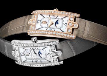 海瑞溫斯頓第五大道 Avenue C™ Mini 系列月相功能腕錶