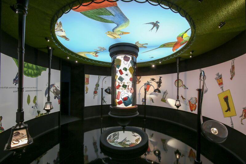愛馬仕「奇境漫遊」巡迴展最終站,9月23日(六)至10月15日(日)於台北松山文創園區登場