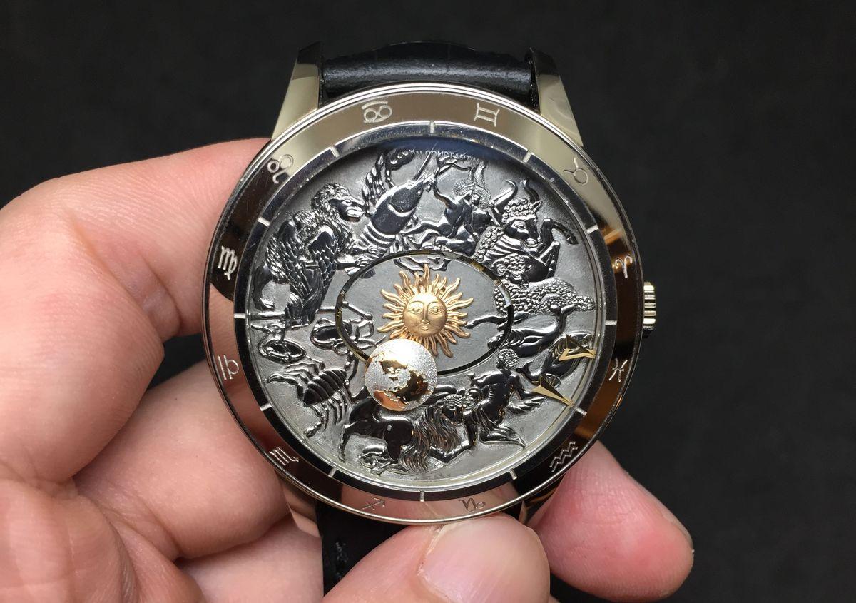 將宇宙握在手中:江詩丹頓Métiers d'Art哥白尼天體球2460 RT腕錶