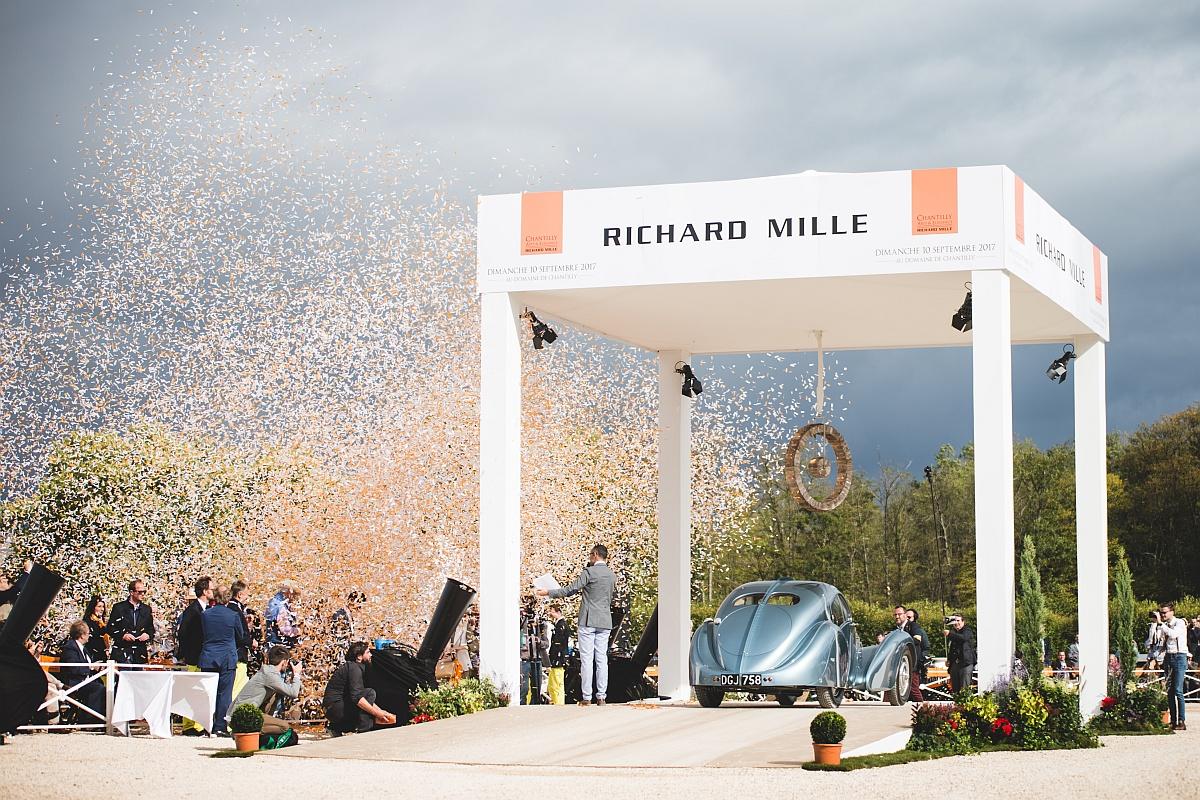 藝術與優雅完美融合:2017年RICHARD MILLE尚蒂伊「藝術與雅致」古董車大展