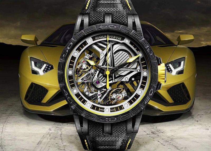 卓絕機械,桀驁馳騁:Roger Dubuis羅杰杜彼和 Lamborghini Squadra Corse藍寶堅尼賽車部門結盟
