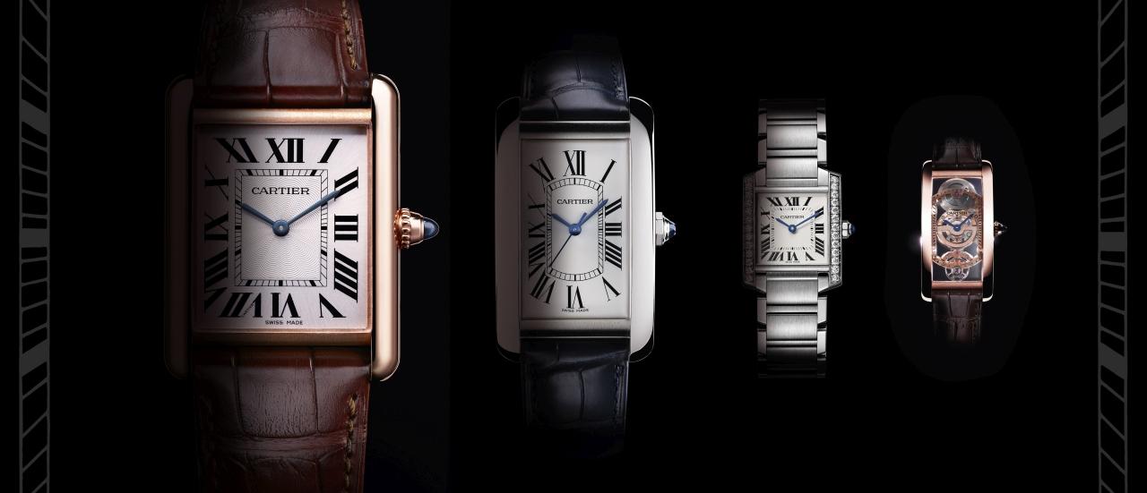 創新詮釋經典再現:卡地亞2017全新TANK腕錶系列