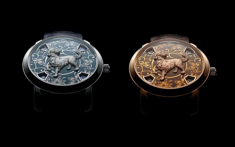 江詩丹頓Métiers d'Art藝術大師系列The Legend of the Chinese Zodiac中國十二生肖傳奇之狗年腕表