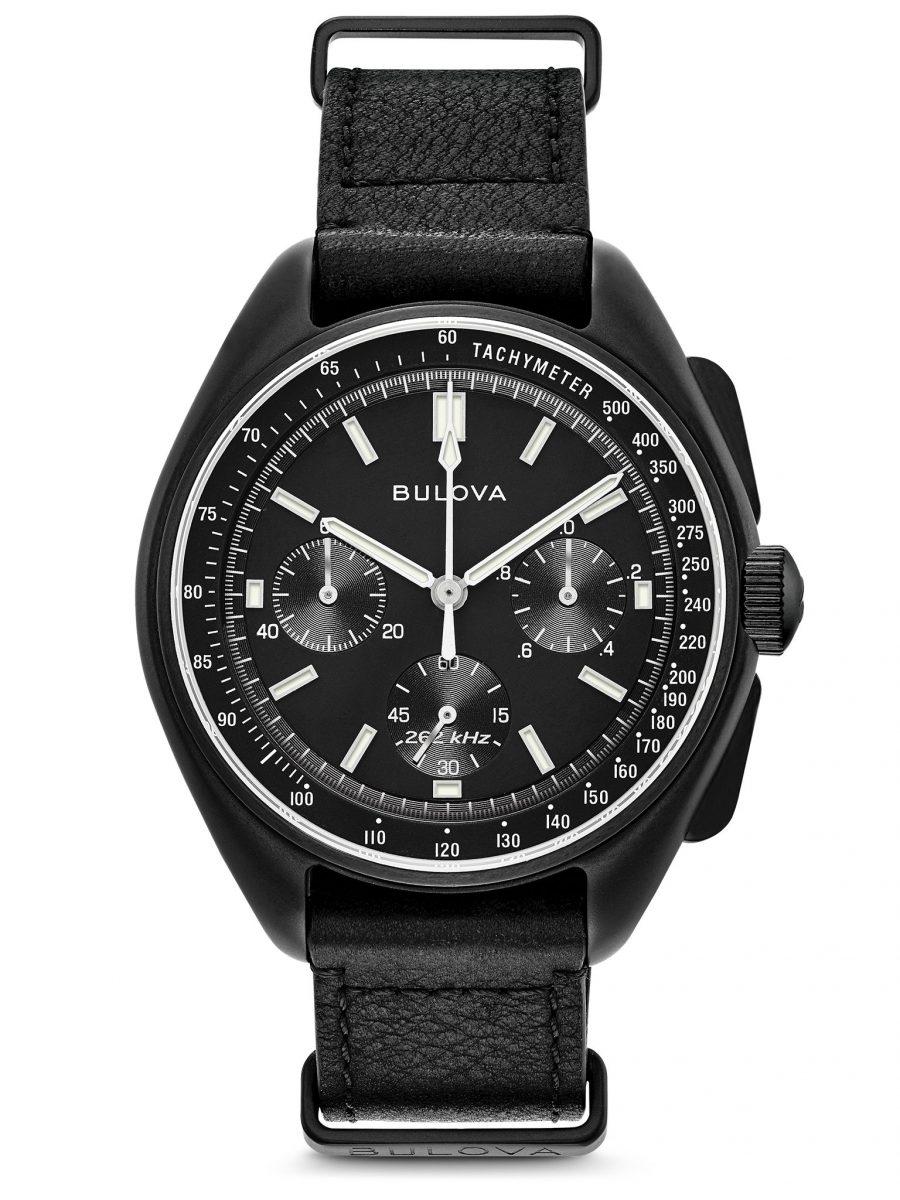 重現經典的復刻登月腕錶,型號98A186,參考售價 NTD 19,800。