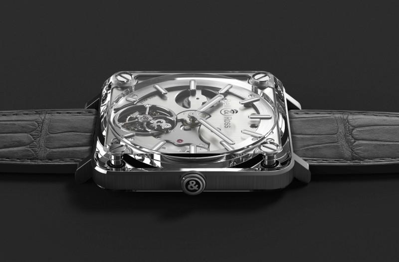 透明感飛行儀:Bell & Ross柏萊士BR-X2 Tourbillon Micro-Rotor腕錶
