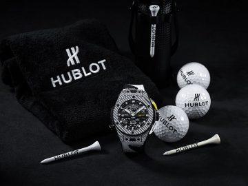 全球首創機械式高爾夫球專業運動錶:Hublot Big Bang Unico Golf 高爾夫腕錶