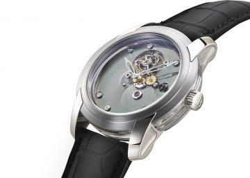 寶鉑一分鐘飛行卡羅素腕錶「限量50編號1」與反轉機芯雪花鑽腕錶隆重登台
