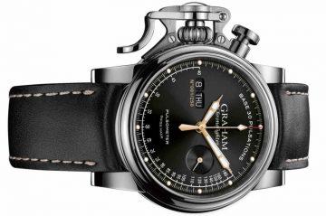 感受那感動的脈搏:Graham Chronofighter Vintage Pulsometer Ltd限量錶款讚頌機械錶的創新和榮景