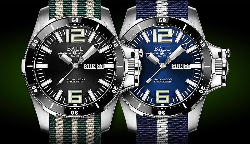 特種部隊專屬專利強悍防禦機制,如今您能輕鬆擁有:BALL Watch Engineer Hydrocarbon Airborne II