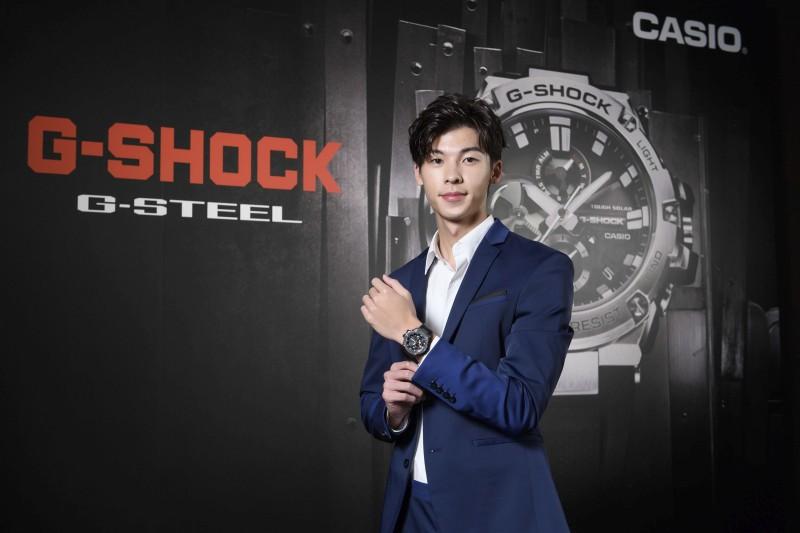 CASIO發表第一款搭載智慧藍牙連線功能的G-SHOCK G-STEEL GST-B100全新系列