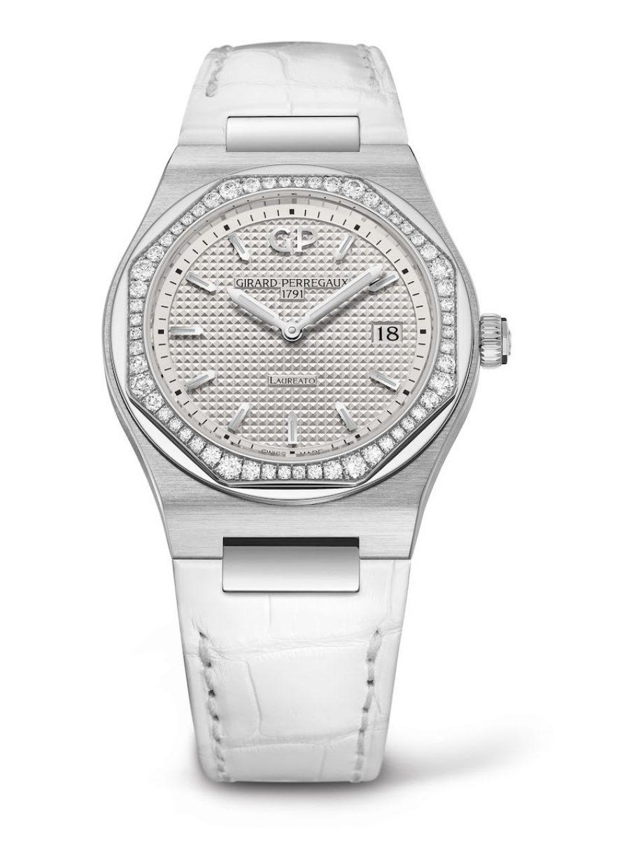 GP 芝柏表 Laureato 34毫米腕錶,參考售價 NTD 268,400。