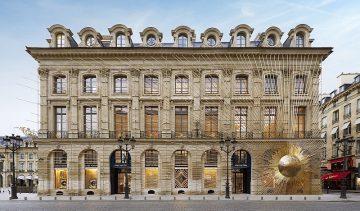 重返品牌起源地,Place Vendome梵登廣場Louis Vuitton路易威登之家開幕