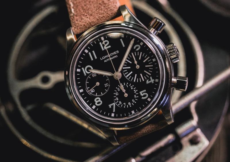 翱翔天際,重現航空黃金時代:Longines浪琴表 BigEye大眼復刻飛行腕錶