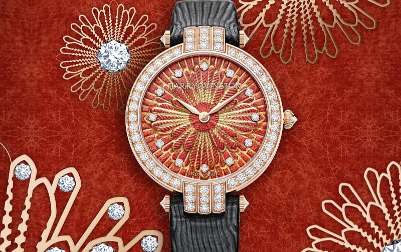 探索奢華之源:海瑞溫斯頓卓時 Premier 系列 Delicate Silk 36 毫米自動腕錶