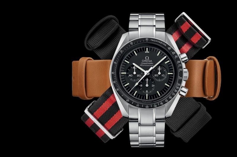 一只腕錶 多種風情:歐米茄推出八款NATO錶帶,讓您自在Mix & Match