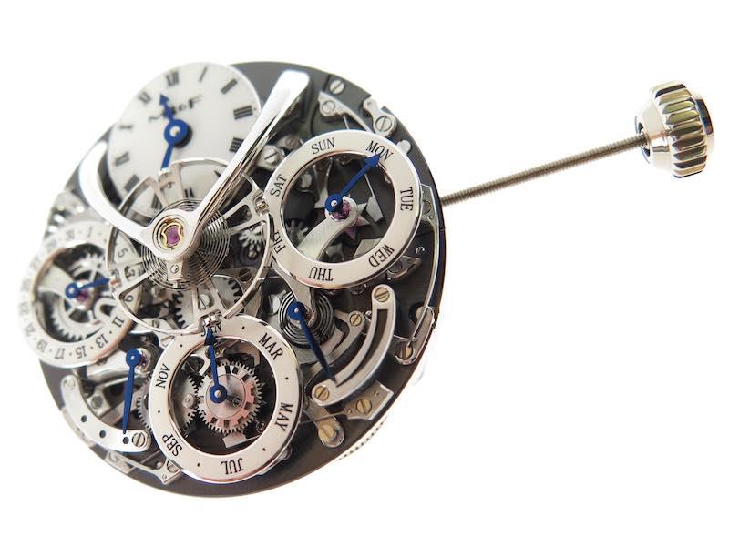 赤裸製錶師  引您鑑賞芯中心