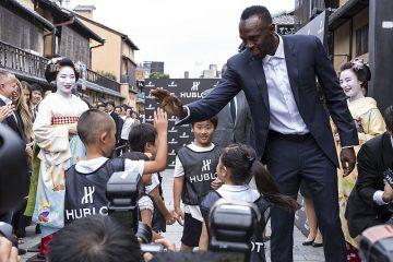 牙買加閃電照亮日本古都:宇舶錶攜手品牌大使 Usain Bolt歡慶京都專賣店開幕