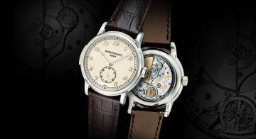 享受錶王的聲音:Patek Philippe三問腕錶