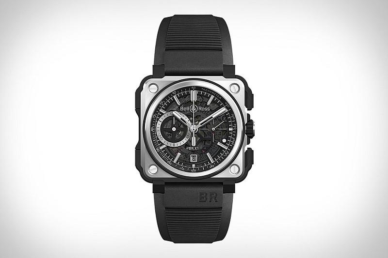 創新高科技鏤空機芯之美:Bell & Ross 全新BR-X1 BLACK TITANIUM 腕錶
