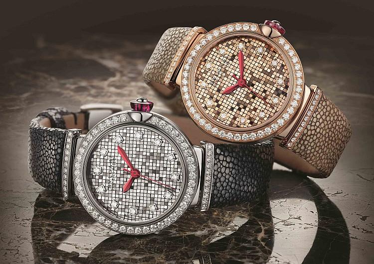方寸間閃耀永恆之光:BVLGARI Lvcea Mosaic微型金磚堆砌馬賽克錶盤腕錶