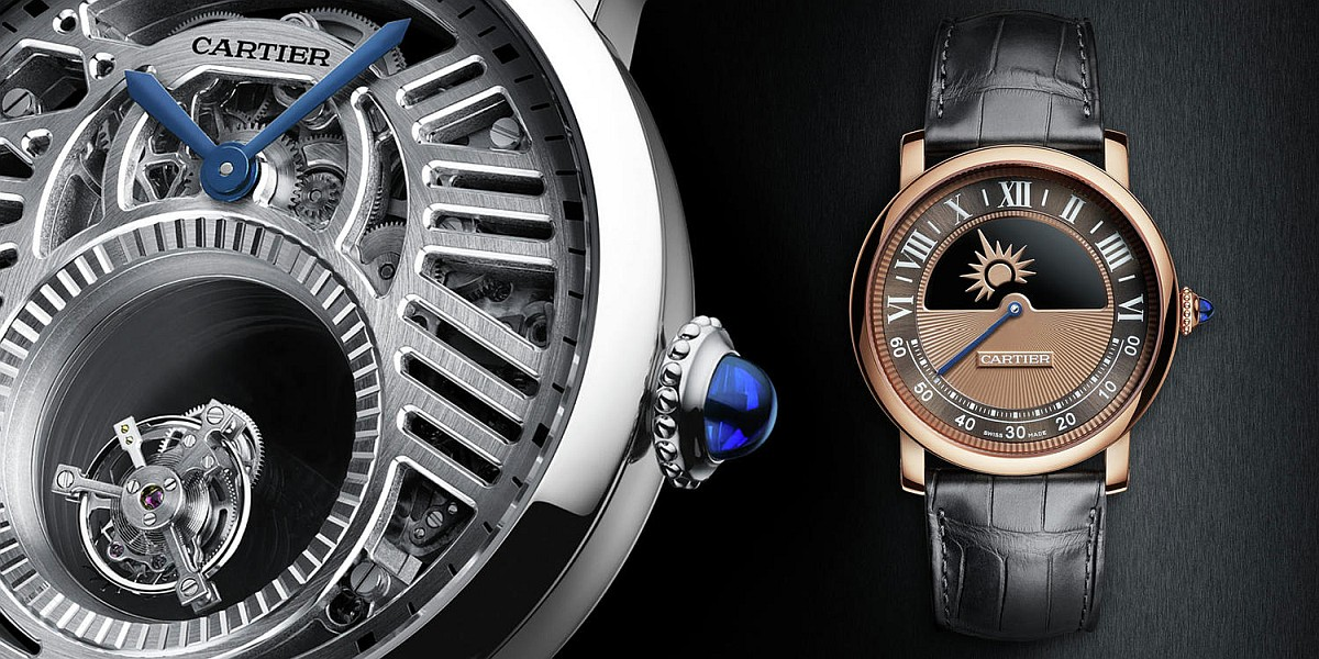 【2018 Pre-SIHH第一發】卡地亞Rotonde de Cartier鏤空雙重神秘陀飛輪腕錶與神秘晝夜顯示腕錶