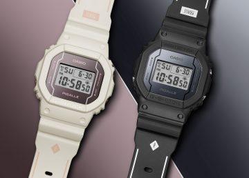 G-SHOCK首度攜手法國高端街頭品牌PIGALLE,為復刻經典款DW-5600系列推出G-SHOCK 35周年限量聯名錶款