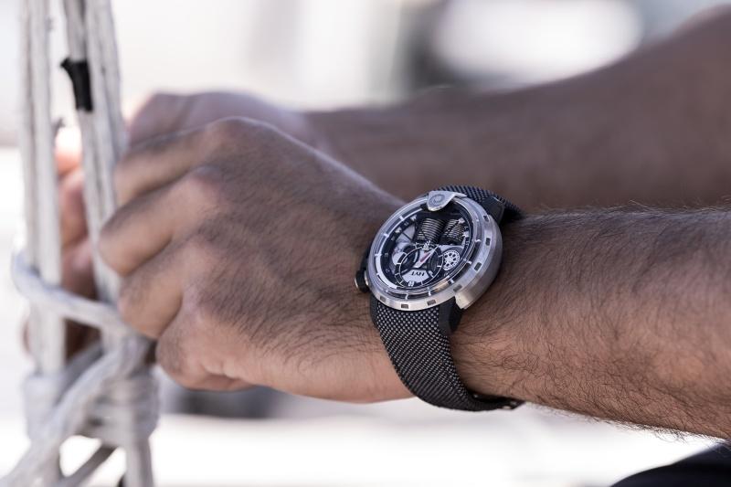 融合頂級技術,全面展現帆船和製錶技術:HYT X Alinghi腕錶第三版–H1 Alinghi