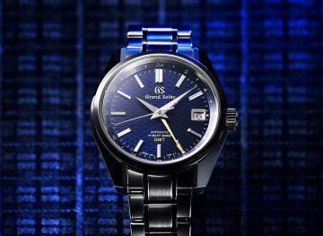 呈現日式傳統文化及審美觀:Grand Seiko回溯品牌創始的淵源,推出三款秋冬限定錶款