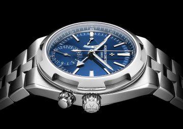 【Pre-SIHH 2018】江詩丹頓Overseas兩地時間腕錶亮相杜拜鐘錶周