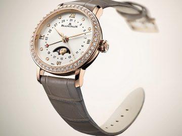 典雅知性雙重呈現:寶鉑Villeret仕女日期月相腕錶添新貌