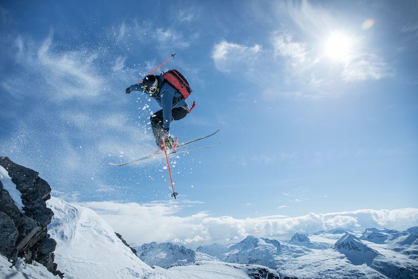 Columbia鈦厲害 跟著冬奧選手去滑雪
