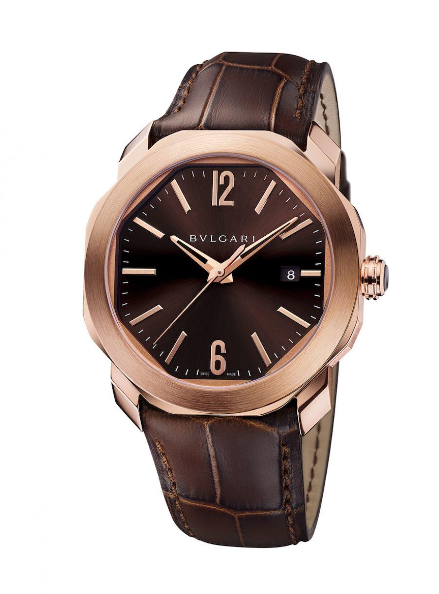BVLGARI Octo Roma 腕錶,參考售價: NTD 599,000。