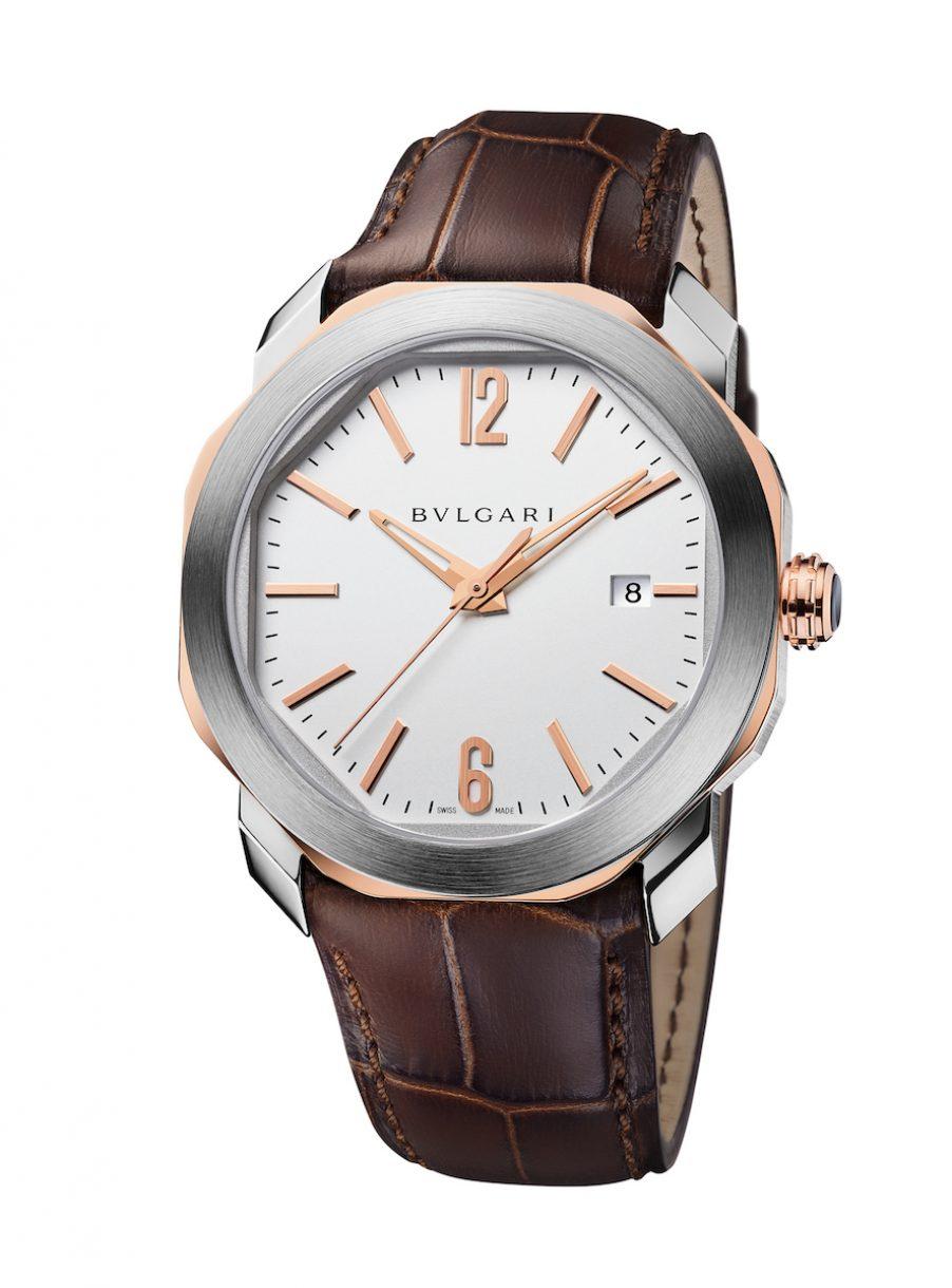 BVLGARI Octo Roma 腕錶,參考售價: NTD 227,500。