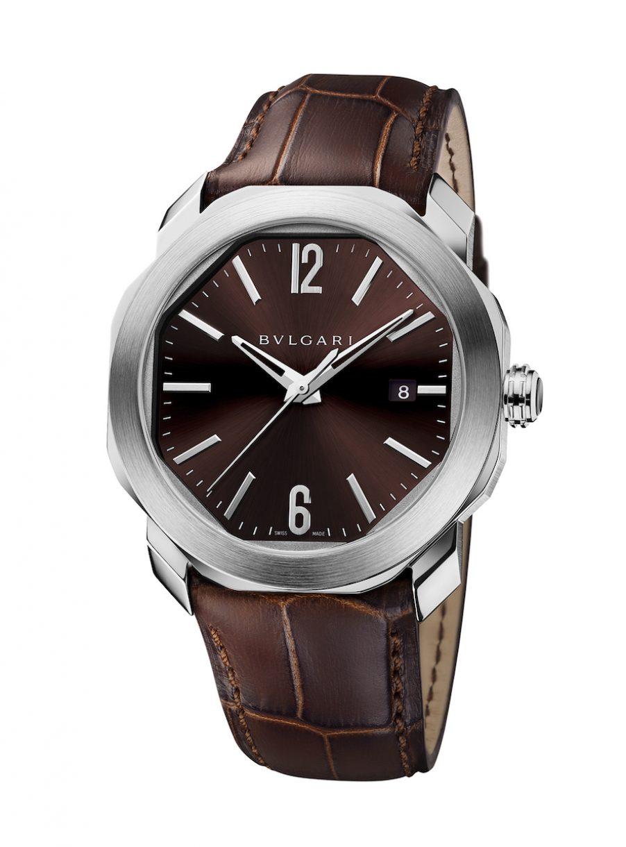 BVLGARI Octo Roma 腕錶,參考售價: NTD 189,800。