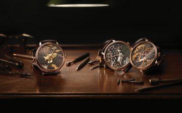 鐘錶與金雕工藝的絕美融合:Blancpain寶鉑Villeret赤銅工藝大馬士革金雕腕錶