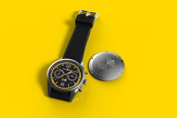 Bell & Ross慶祝雷諾車隊征戰一級方程式40周年,推出BR126 Renault Sport 40th Anniversary限量錶