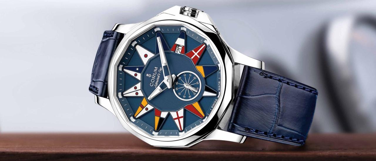 用海上的語言,說時間:Corum海軍上將系列腕錶