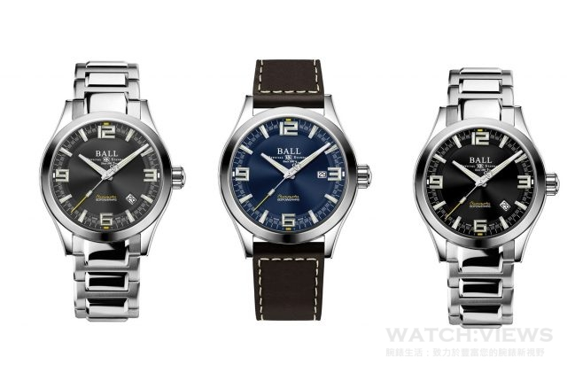 BALL Watch將首枚自製機芯搭載於全新Engineer M Challenger限量系列,備有40或43毫米錶徑選擇,流線型設計的錶殼,適合不同手型。黑、藍或灰色的錶盤,採用了分層設計,增強立體感。