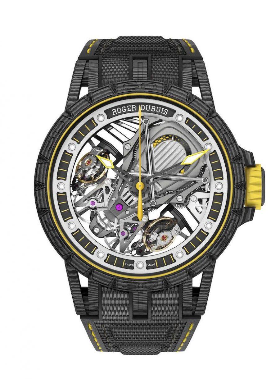 Excalibur Aventador S雙擒縱腕錶,限量88只,參考售價:NTD 5,950,000。
