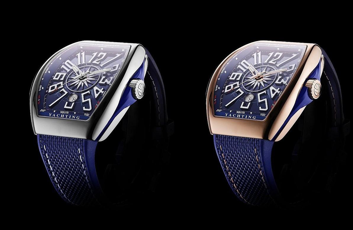 以精湛製錶工藝向:航海世界致敬FRANCK MULLER Vanguard Yachting腕錶